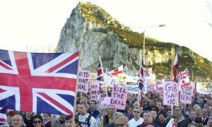 Gibraltar protestas