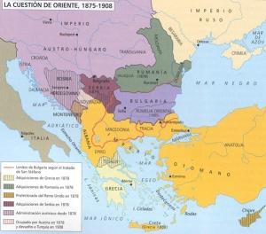 Balcanes cuestion de oriente