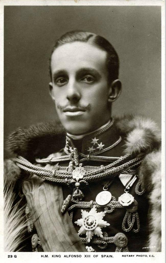 Opiniones de Alfonso XIII de España