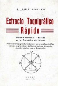 libro taquigrafico
