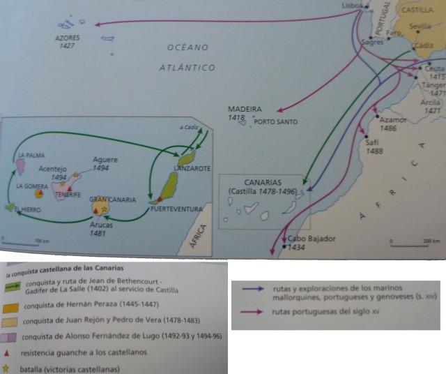 mapa canarias
