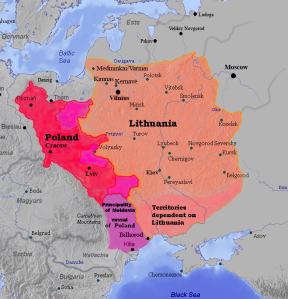 Polonia-Lituania tras la unión de Krewo