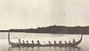 Pacifico canoa