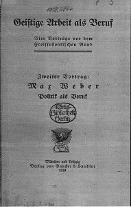 Política Max Weber