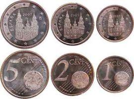 céntimos cobre