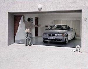 garaje falso