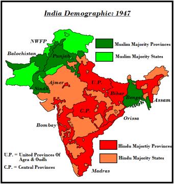 mayorias minorias india