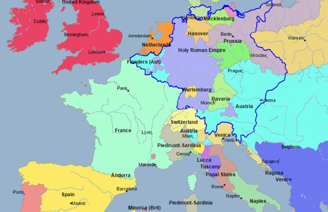 francia 1780