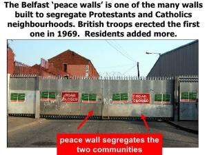 belfast wall
