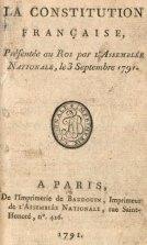 Francia constitución 1791