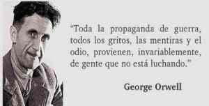 Orwell frase