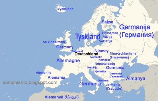 Alemania nombres