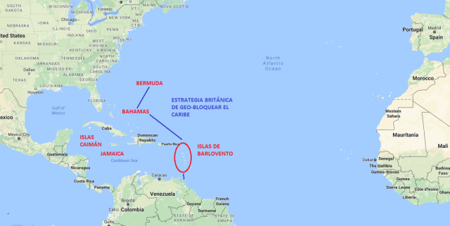 Geobloqueo Caribe