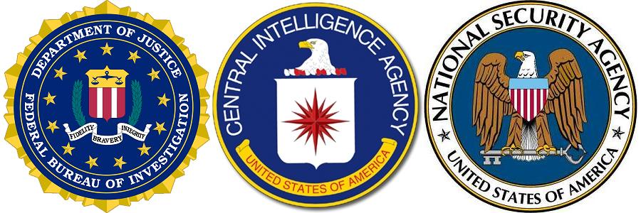 FBI CIA NSA
