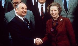 Gorbachev & Thatcher