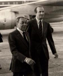 Hassan II Juan Carlos I