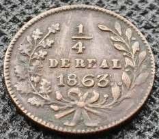 Cuarto moneda