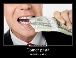 Pasta dinero