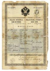 Austrohungría pasaporte