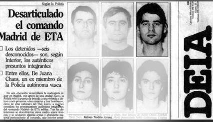 ETA Comando Madrid