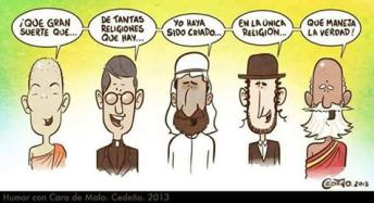 Chiste religión