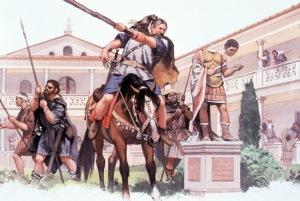 Romanos bárbaros