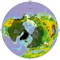 Polo norte edad hielo