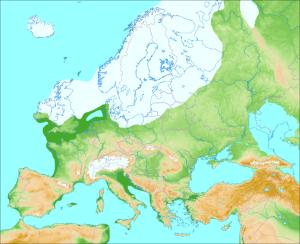 Europa edad hielo