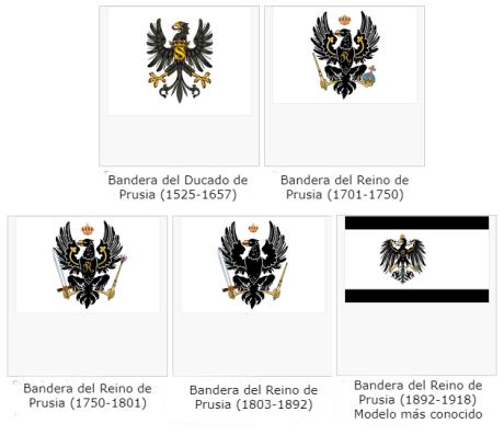 Banderas Prusia