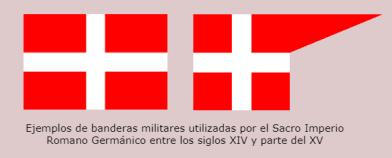 Bandera militar Sacro Imperio
