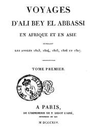 Obra Ali Bey