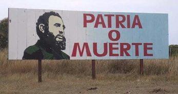 Patria o muerte