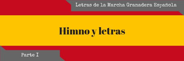 Letra Himno España