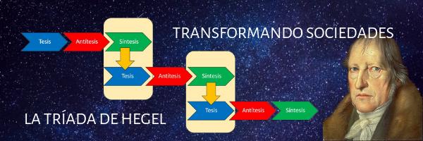 Transformando sociedades. La tríada de Hegel