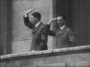 Fotografía de Goebbels Hitler