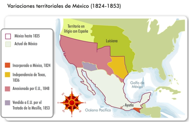 Evolucion territorio mexicano
