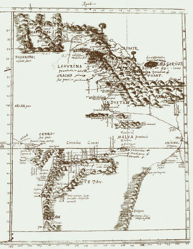 Mapa Antonio de Montserrat