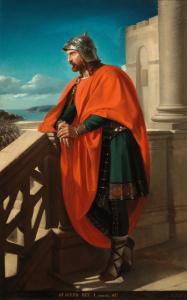 Imagen del rey visigodo Ataulfo