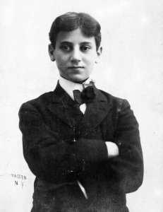 Foto Groucho Marx cuando joven