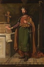 Imagen de Recaredo I rey visigodo