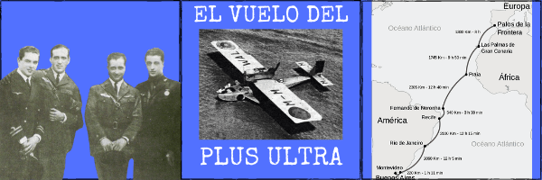 Audio (XL): El vuelo del Plus Ultra